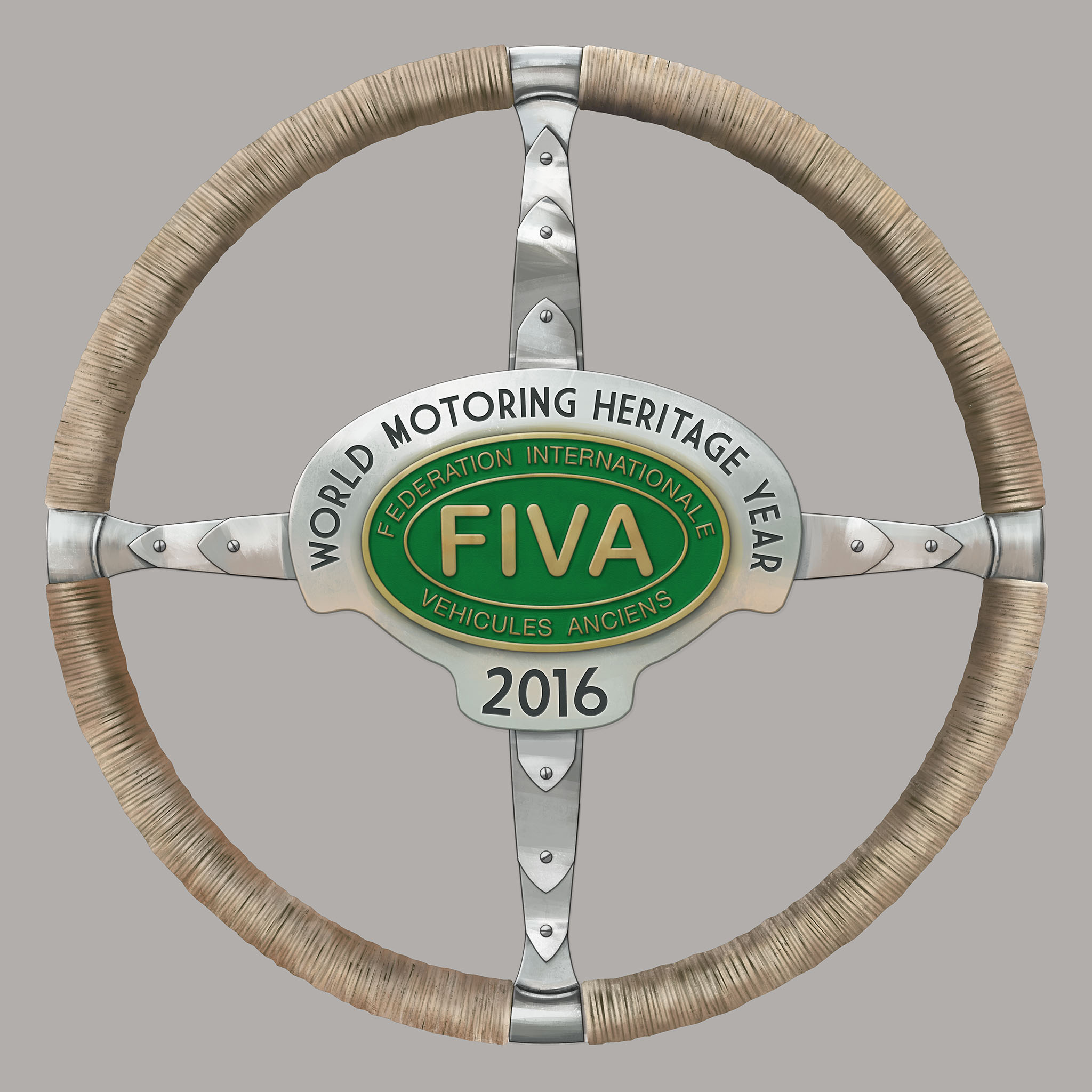FIVA Wheel car WMHY logo 009